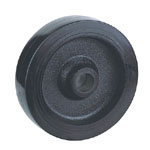 Rubber Wheels with Cast Iron,