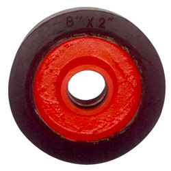 bonded rubber wheel,